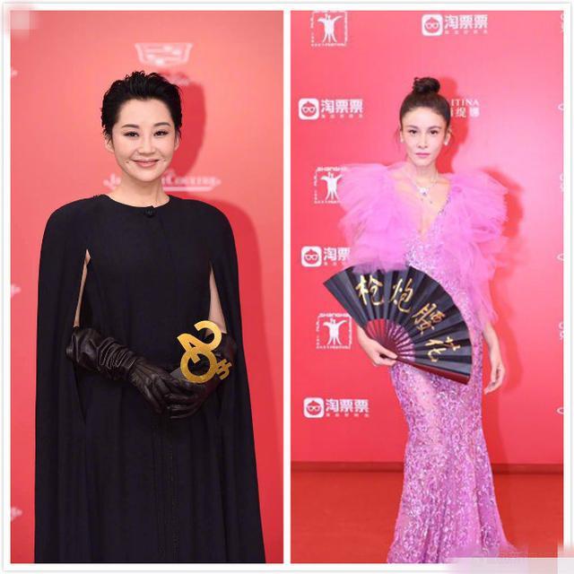 """上海电影节许晴一身黑太""""扎眼"""",而杨幂靠""""小心机""""还赢了刘亦菲!"""