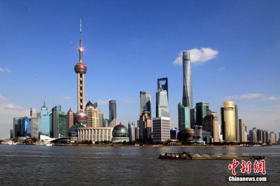 全球金融中心指数发布:上海升至第六位 成都首上榜