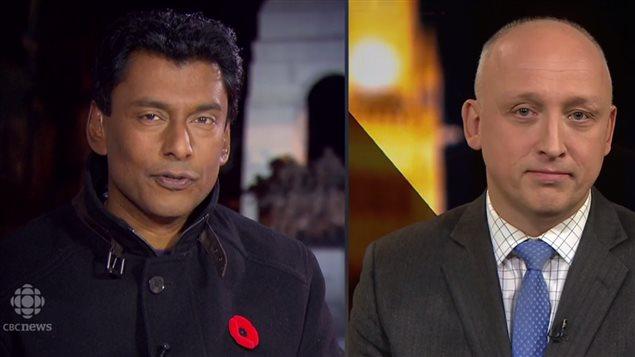 加拿大广播公司晚间新闻报道莫尔诺被调查事件