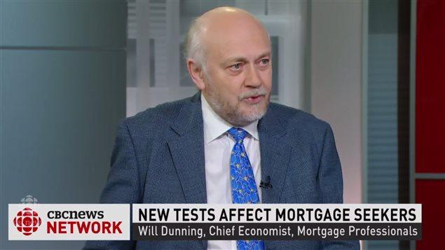 加拿大房贷专业人士协会首席经济师 Dunning