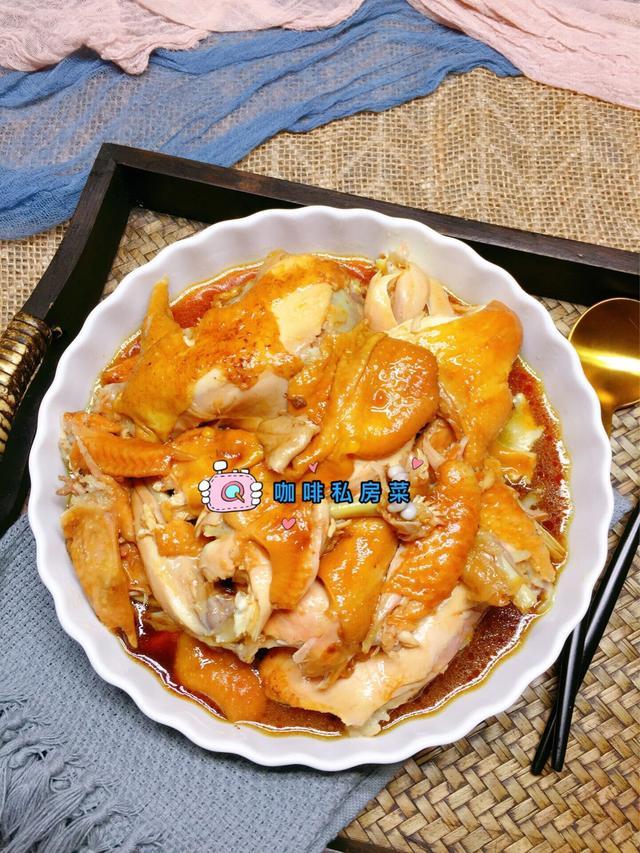 电饭煲焗鸡的做法,鸡肉嫩滑,鲜香入味,夏天做真省事,太好吃了