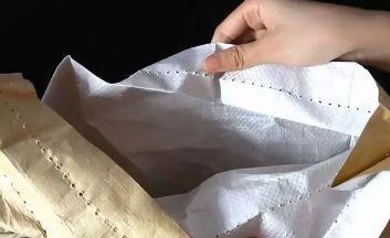 """大米袋难拆?只需死记1句""""秘诀"""",3秒就能拆开,太实用了"""