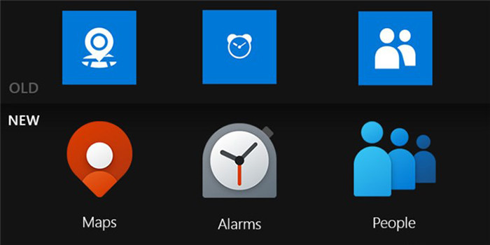 """看起来一点也不""""微软""""的新图标,预示着Windows 10X内置应用也会以新相貌示人"""