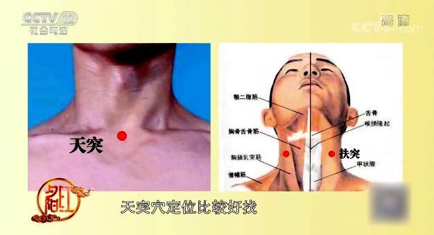 缓解咽喉痛、咽干不适 喉部按摩你会吗?